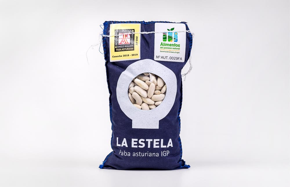 Faba asturiana, 1kg de Fabas La Estela
