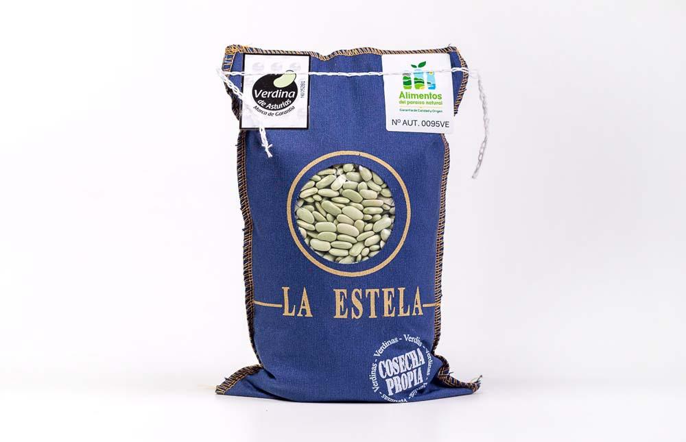Verdina de Asturias, paquete de 1kg Fabas La Estela